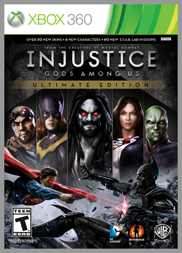 injustice gods among us ultimate edition-XBOX 360